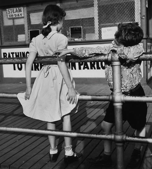 Coney Island ca. 1951 PhotoMartin Elkort