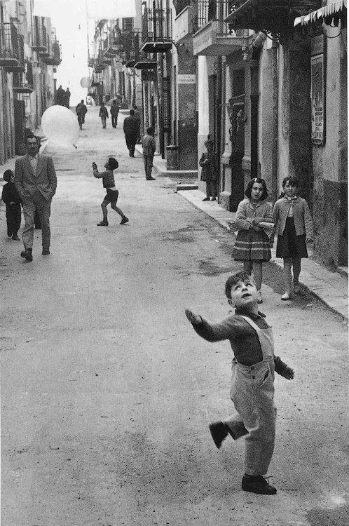 Enzo Sellerio - Montelepre, 1958.