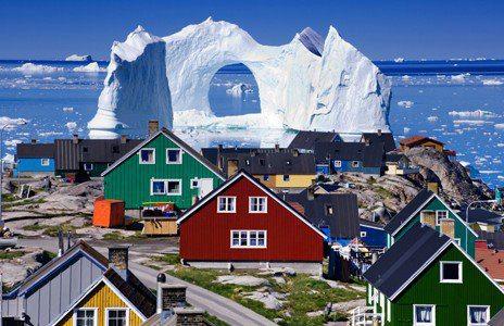 Fishing Village, Greenland