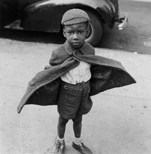 Jerome Liebling, Butterfly Boy, NY 1949
