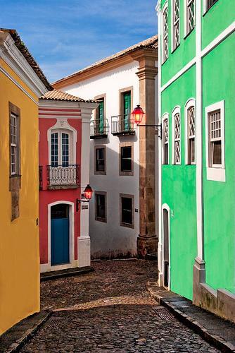Pelourinho Salvador de Bahia Brasil