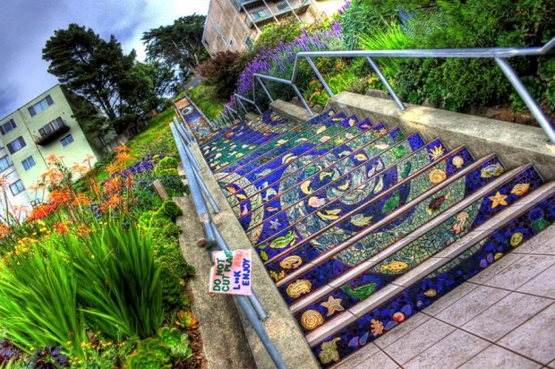 16th Avenue Tiled Steps, San Francisco2