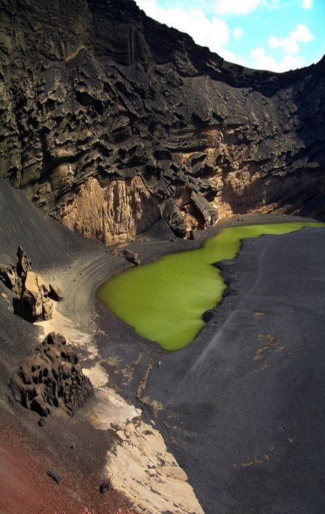 Laguna Verde, Lanzarote Spain