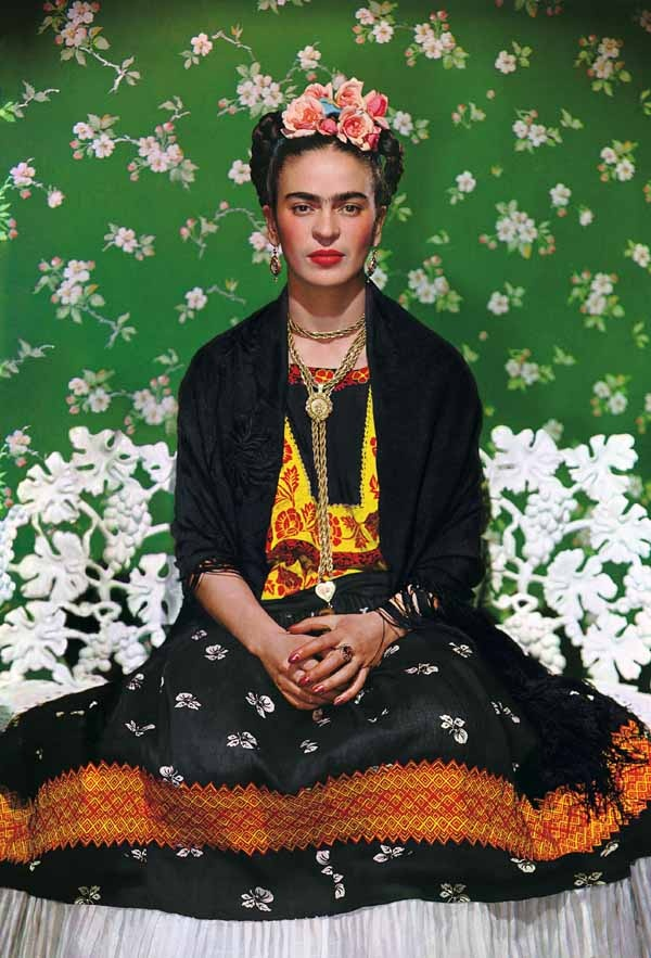 Frida Kahlo: by Nickolas Muray