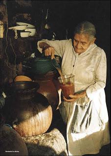 La Lucila, dona da picanteria de Sachaca