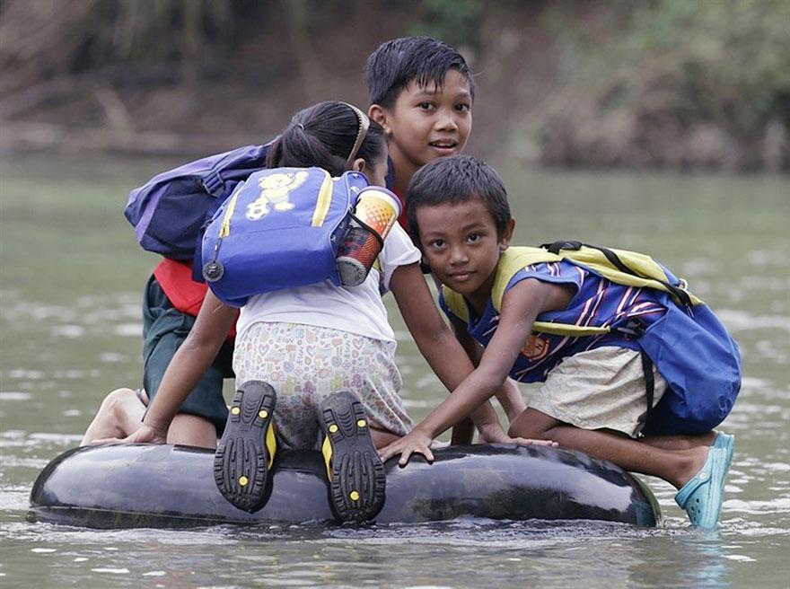 18 dos caminhos para escola mais perigosos do mundo