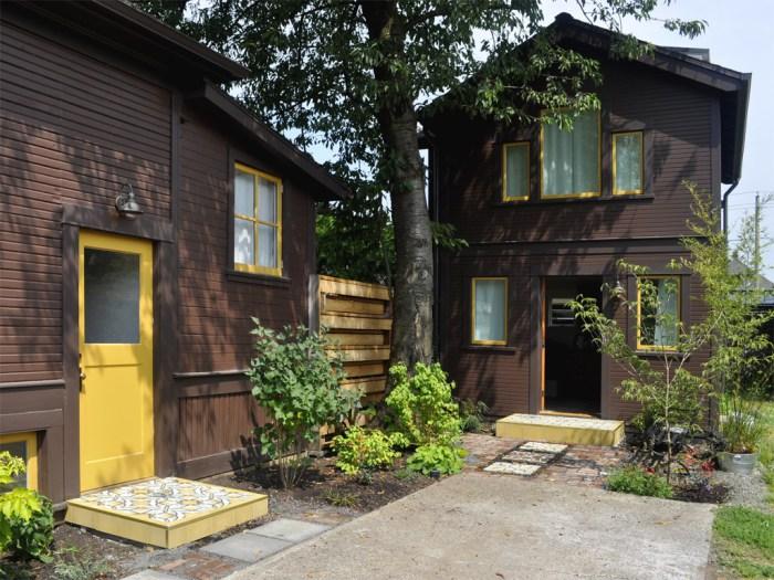 Imagem: Residência de Stephanie e Sam Dyer em Portland