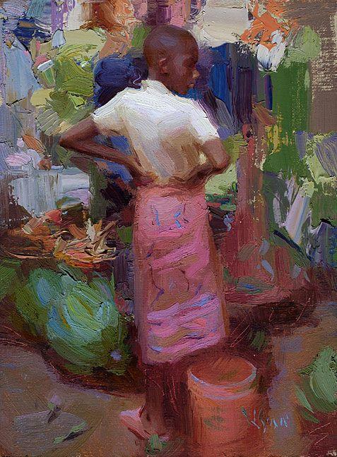 Green Bananas by Susan Lyon