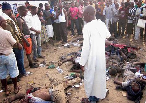 O grupos radical islâmico Boko Haram tem cometido uma série de atentados na Nigéria