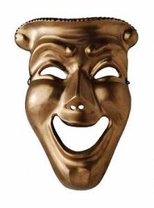 Apesar da máscara de riso que a maioria deles usa.