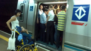 E se você tem alguma dúvida, experimenta pegar metrô em São Paulo às seis da tarde.