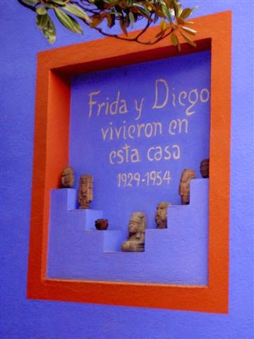 Blue house of the Mexican Artist, Frida Kahlo_7