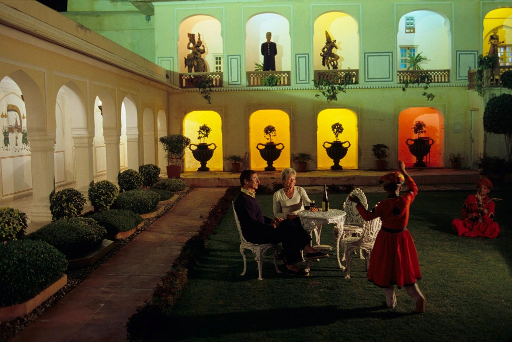 Rambagh Palace Hotel, Jaipur, India 2005