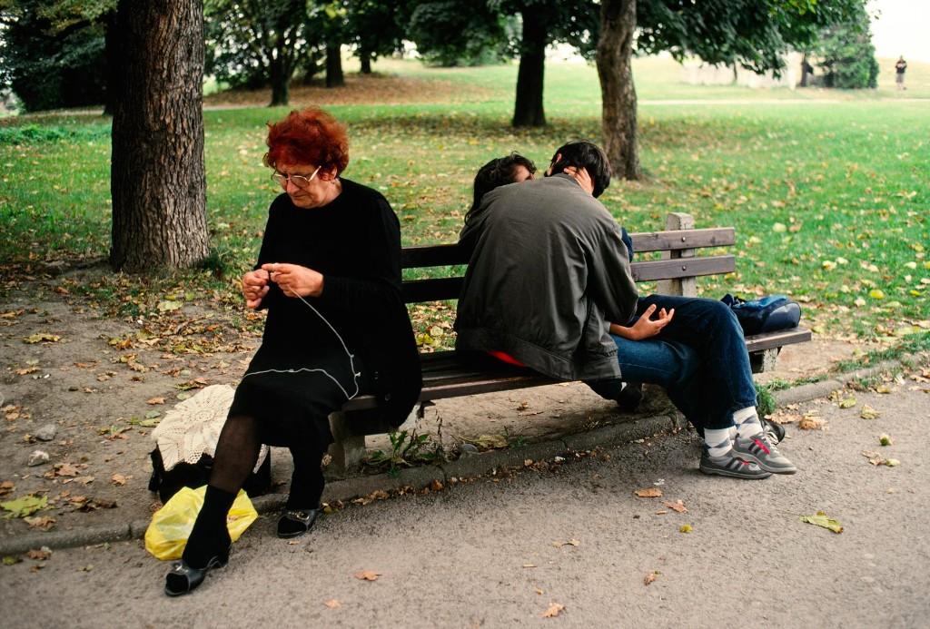 Kalemegdan park, Belgrade, Serbia, 1989, YUGOSLAVIA-10063