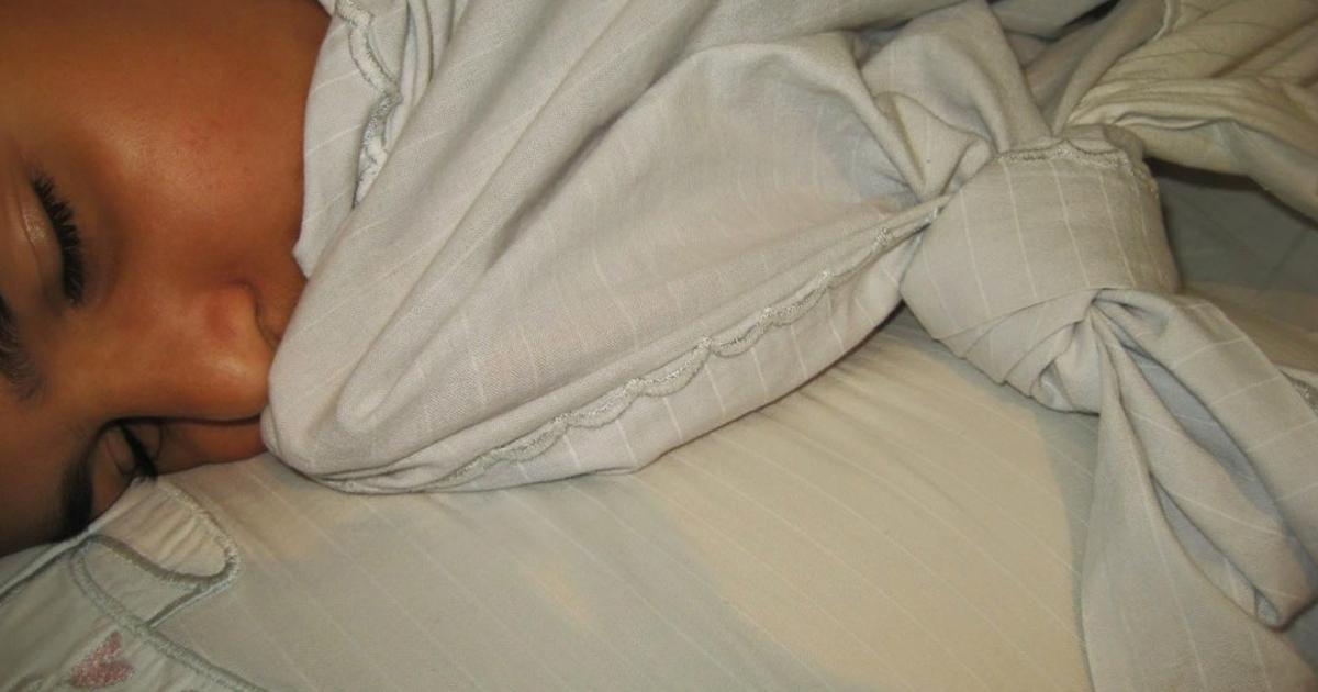 nó no lençol
