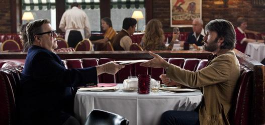 (L-r) JOHN GOODMAN as John Chambers and BEN AFFLECK as Tony Mendez in