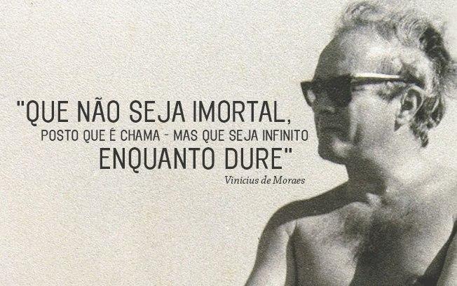 17 frases e versos inesquecíveis de Vinicius de Moraes
