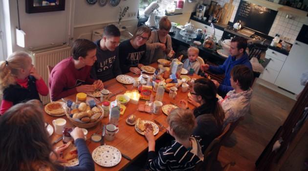 Só quem tem uma família grande entende o risco de ficar sem comida, caso se atrase