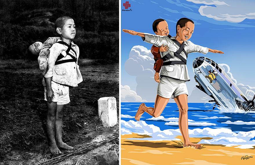 ilustrações crianças gunduz aghayev_5