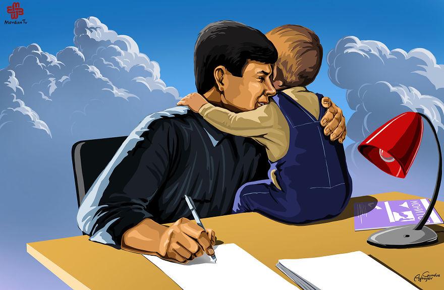 ilustrações crianças gunduz aghayev_6b