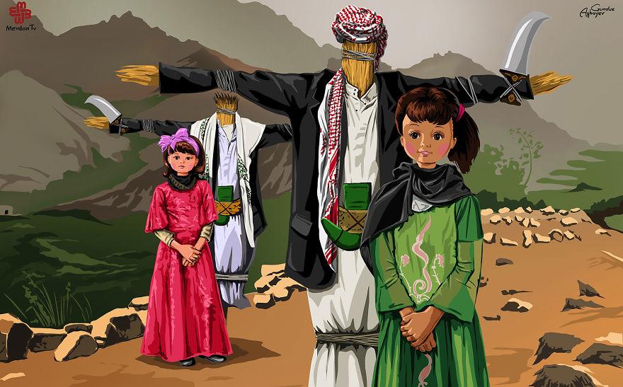 ilustrações crianças gunduz aghayev_7b