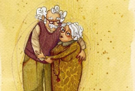 avós-abraçados