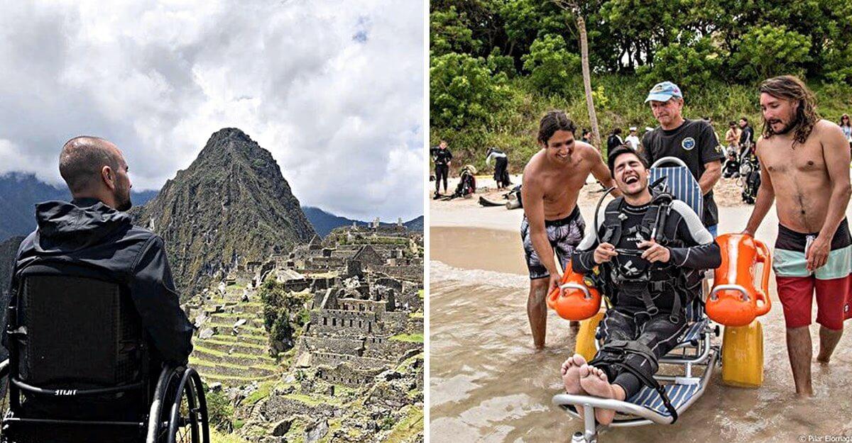 """Resultado de imagem para """"Wheel the World"""": o projeto que permite que pessoas em cadeiras de rodas viajem pelo mundo"""""""