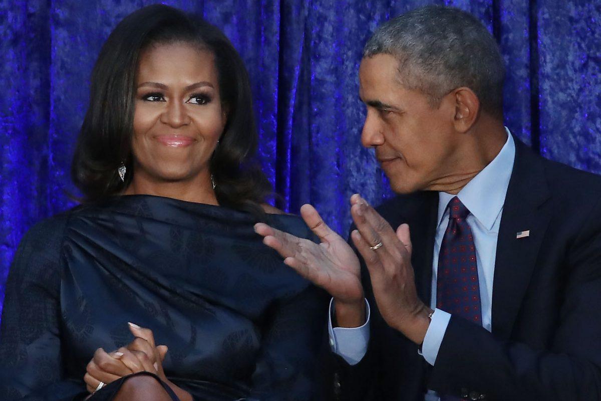 """Resultado de imagem para """"O mundo seria melhor se mulheres governassem todos os países"""", diz Barack Obama"""